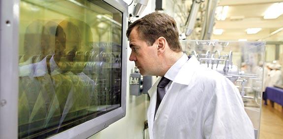 Dimitry Medvedev Photo: Reuters
